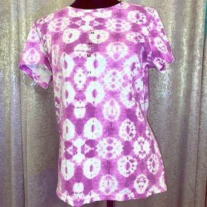 Purple & White Northcrest T Shirt